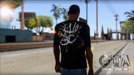 Rey Mystirio T-Shirt para GTA San Andreas segunda tela