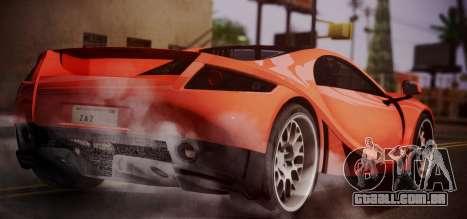 Spano Black para GTA San Andreas esquerda vista