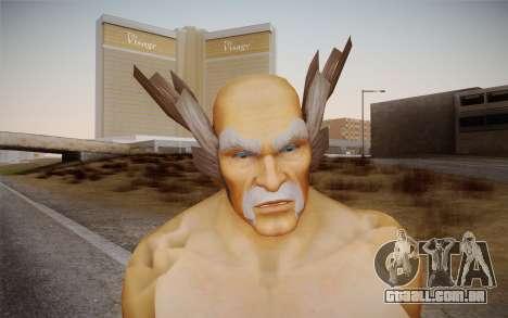 Heihachi Mishima v2 para GTA San Andreas terceira tela