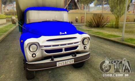 ZIL V para GTA San Andreas esquerda vista