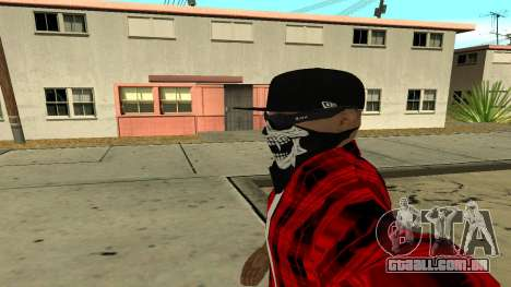 Selfie Mod para GTA San Andreas por diante tela