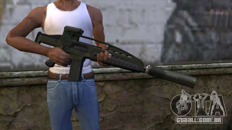 XM8 Assault Olive para GTA San Andreas terceira tela