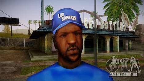 Sweet Blue Skin para GTA San Andreas terceira tela