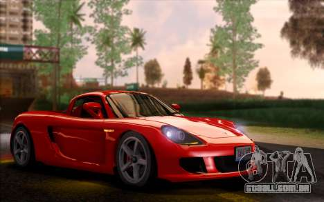 SA Ultimate Graphic Overhaul para GTA San Andreas por diante tela