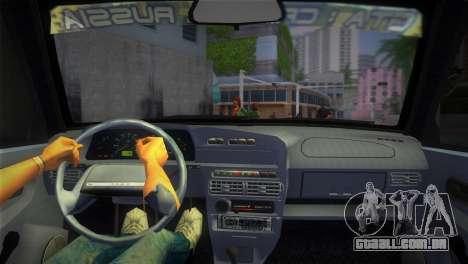 O VAZ-2113 para GTA Vice City vista traseira esquerda