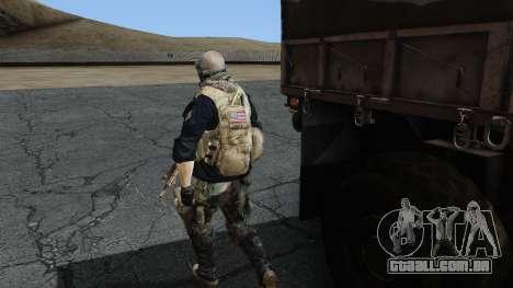 Army Ghost v2 para GTA San Andreas terceira tela