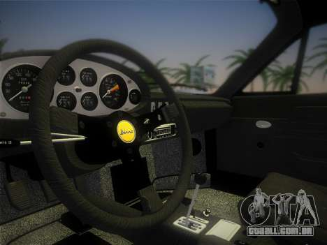 Ferrari 246 Dino GTS 1972 para GTA Vice City vista lateral