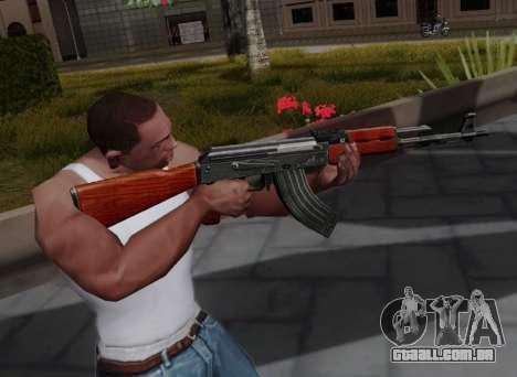 Type 56 para GTA San Andreas terceira tela