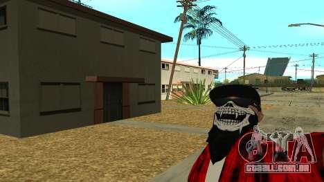 Selfie Mod para GTA San Andreas segunda tela