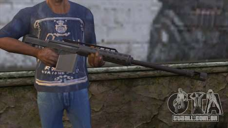 Heavy Sniper from GTA 5 para GTA San Andreas terceira tela