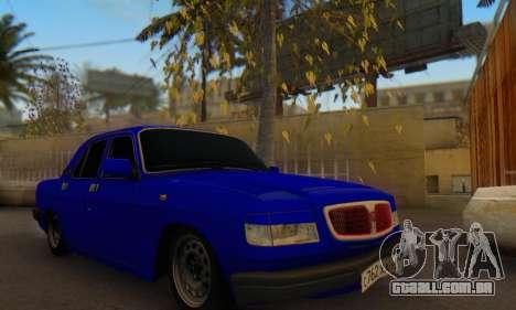 GAZ 3110 Volga LT para GTA San Andreas vista traseira