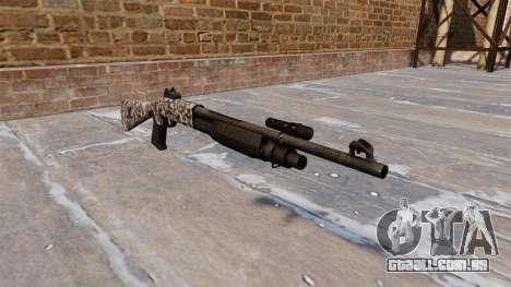 Ружье Benelli M3 Super 90 diamante para GTA 4