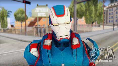 Iron Patriot para GTA San Andreas terceira tela