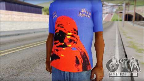 Black Sabbath T-Shirt v3 para GTA San Andreas terceira tela