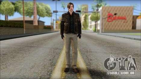 Leon Kennedy from Resident Evil 6 v4 para GTA San Andreas
