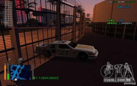 Andar através de paredes para GTA San Andreas segunda tela