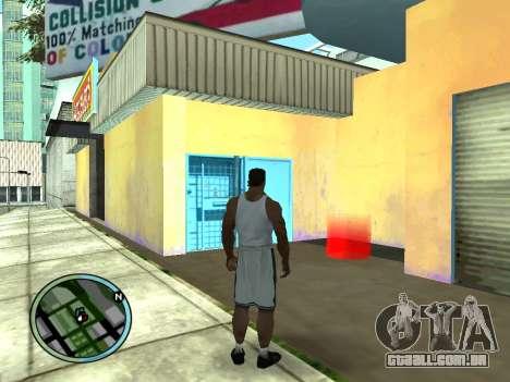 Evacuador v1.0 para GTA San Andreas segunda tela