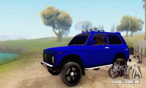 VAZ 21213 para GTA San Andreas vista direita