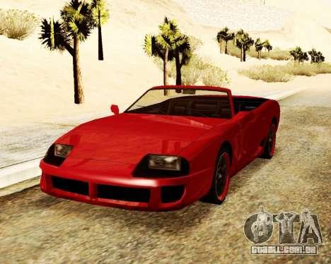O Bobo Conversível para GTA San Andreas