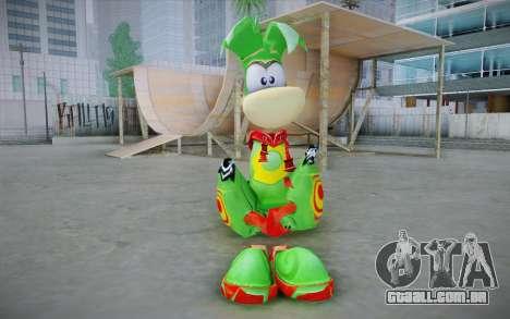 Vortex Rayman Skin para GTA San Andreas