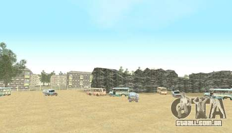 Russian Map 0.5 para GTA San Andreas nono tela