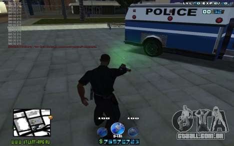 C-HUD by Mr.Riko para GTA San Andreas terceira tela
