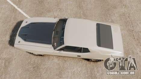 Ford Mustang Mach 1 1973 v3.0 GCUCPSpec Edit para GTA 4 vista direita