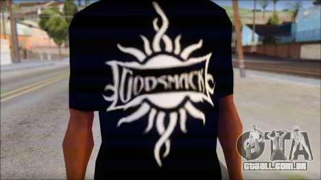 Godsmack T-Shirt para GTA San Andreas segunda tela