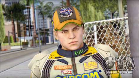 Piers Amarillo Gorra para GTA San Andreas terceira tela