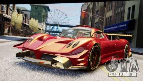 Pagani Zonda Autosport para GTA 4
