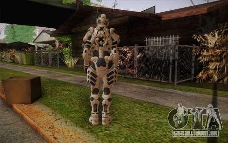Suit from Vanquish para GTA San Andreas segunda tela