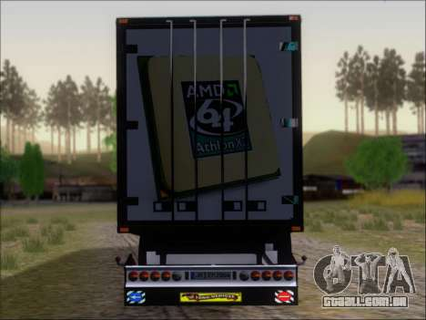 Trailer AMD Athlon 64 X2 para GTA San Andreas vista inferior