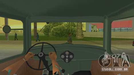 Ford Model AA 1930 para GTA Vice City vista traseira esquerda