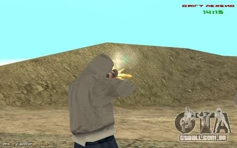Cheat vista para GTA San Andreas por diante tela
