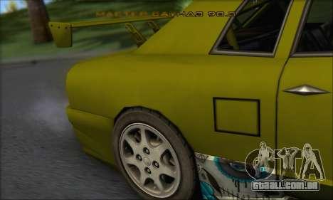 Doktor Style Elegy para GTA San Andreas vista direita