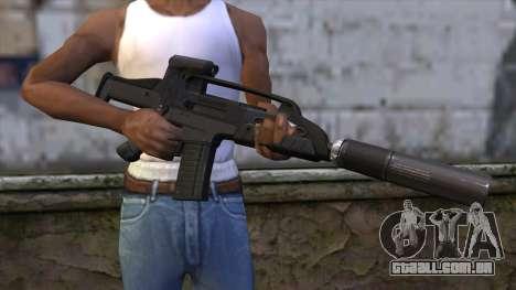 XM8 Compact Black para GTA San Andreas terceira tela
