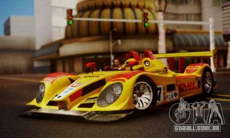 Porsche RS Spyder Evo 2008 para GTA San Andreas vista traseira