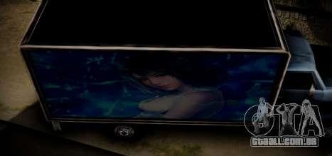 Yankee Final Fanatsy XIII para GTA San Andreas vista interior