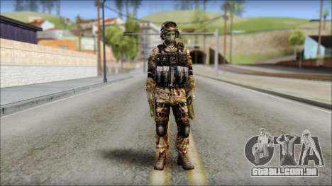 Forest GRU from Soldier Front 2 para GTA San Andreas