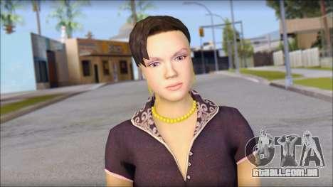 Young Woman para GTA San Andreas terceira tela