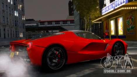 Ferrari LaFerrari WheelsandMore Edition para GTA 4 esquerda vista