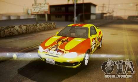 Mazda MX-3 para GTA San Andreas vista traseira