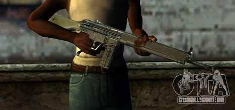 Mexican Army G-3 para GTA San Andreas terceira tela