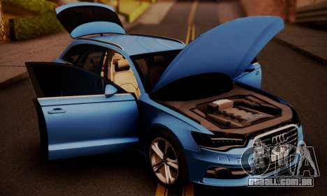 Audi S6 Avant 2014 para GTA San Andreas vista direita