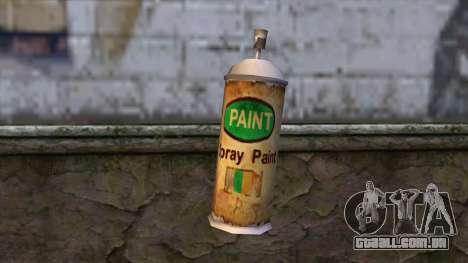 Spraycans from Bully Scholarship Edition para GTA San Andreas segunda tela