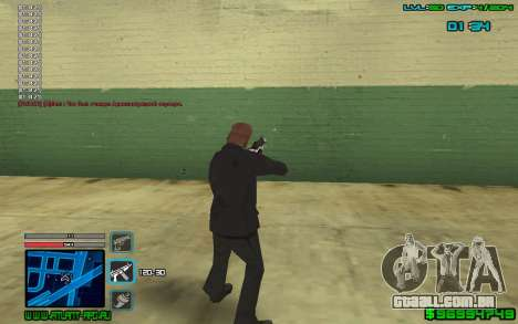 C-HUD by SampHack v.4 para GTA San Andreas terceira tela