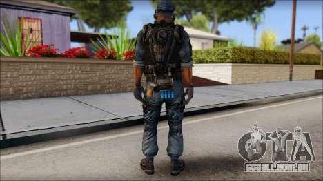 Sami GIGN from Soldier Front 2 para GTA San Andreas segunda tela