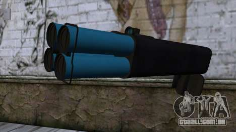M20 BRS Rocket Launcher para GTA San Andreas