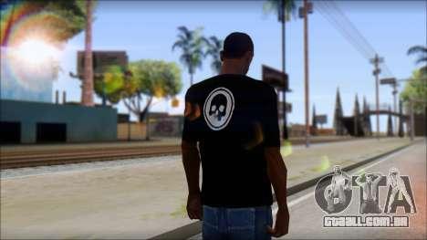 ThreeA T-Shirt para GTA San Andreas segunda tela