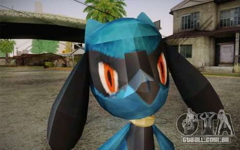 Riolu from Pokemon para GTA San Andreas terceira tela